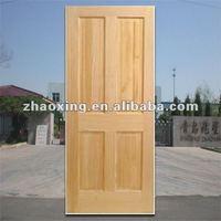 unpaint 4 or 6 panel knotty pine wood doors