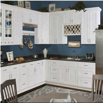 2019 Hot Sell Classic Style Wooden Kitchen Cabinet With Shaker Door For  American - Buy Kitchen Cabinet,American Wooden Kitchen Cabinet,American ...