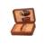 Hot Sale Travel Pu Leather Cover Pine Wood Cigar Box Case