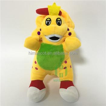Hi Ce Movie Character Lovely Barney Plush Toy Barney Stuffed Plush