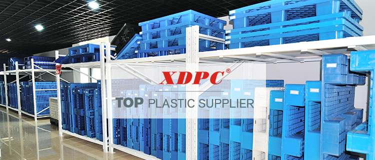 1100 x 1000 wholesale cheap palete de plastico nestable single side plastic pallets for sale