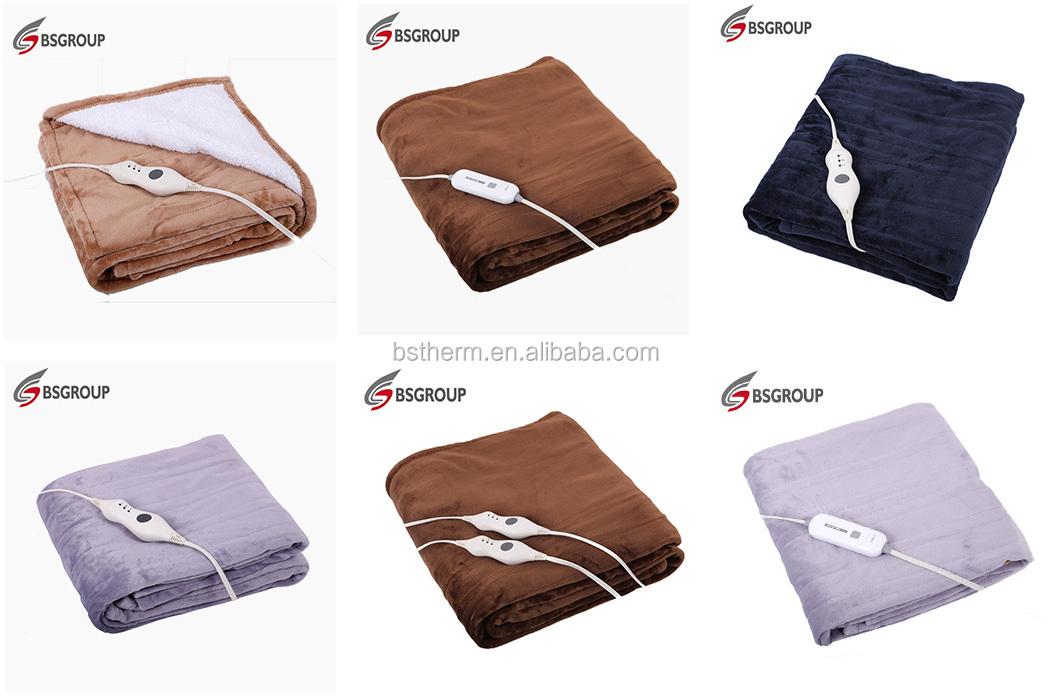 ผลิตภัณฑ์ใหม่ที่สะดวกสบายสุด ๆ ที่กำหนดเองไฟฟ้าแบบพกพาผ้าห่มอุ่นไร้สาย