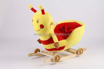 Charming Children Rocking Chair,plush Rocking Horse
