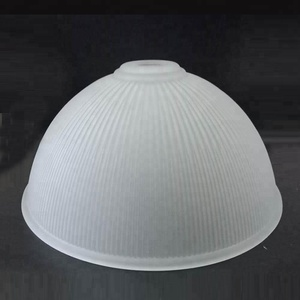 Alabaster Round Frosted Glass Bowl Pendant Lamp Shade