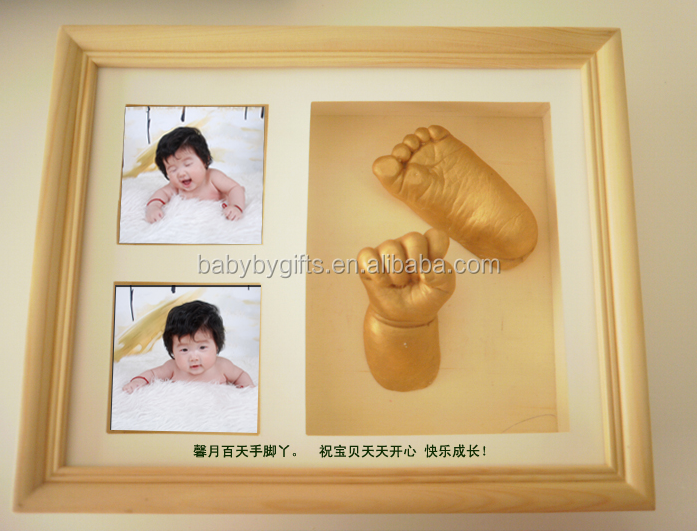 Hot baby foot 3d printer diy casting sculpture footprint kit