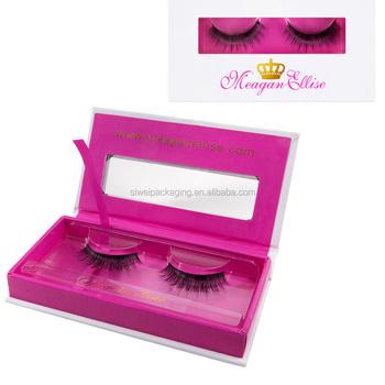 64f7db49d90 Rectangle custom eyelashes packaging empty box magnetic eye lashes box for  mink hair lashes wholesale