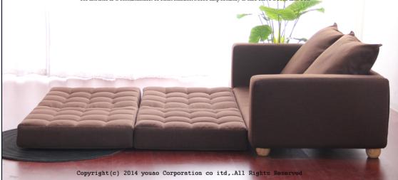 Multi Purpose Sofa Bed/Japan Style Sofa Bed / Sofa Furniture B262 In China