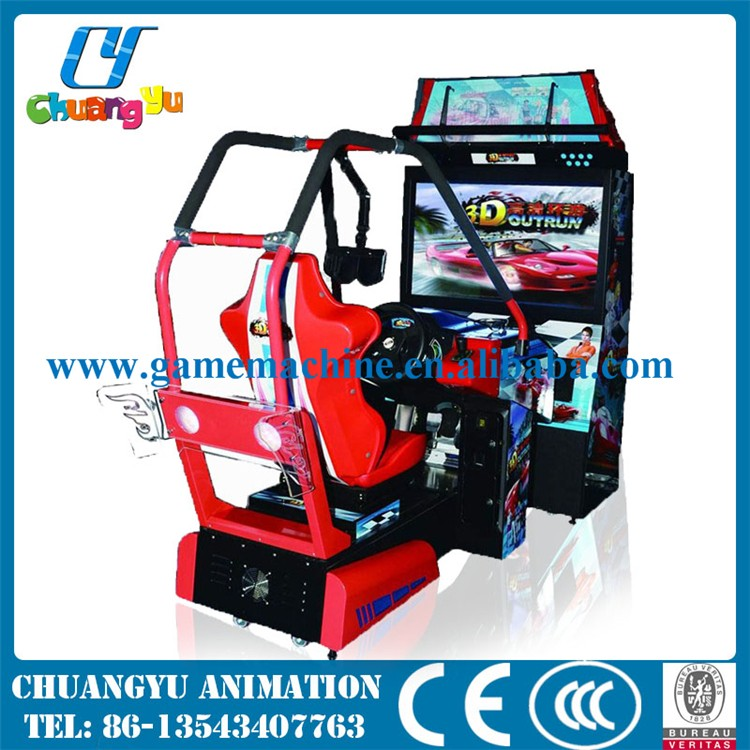 Indoor Adults Coin Operated Arcade Games Outrun Car Racing Game ...
