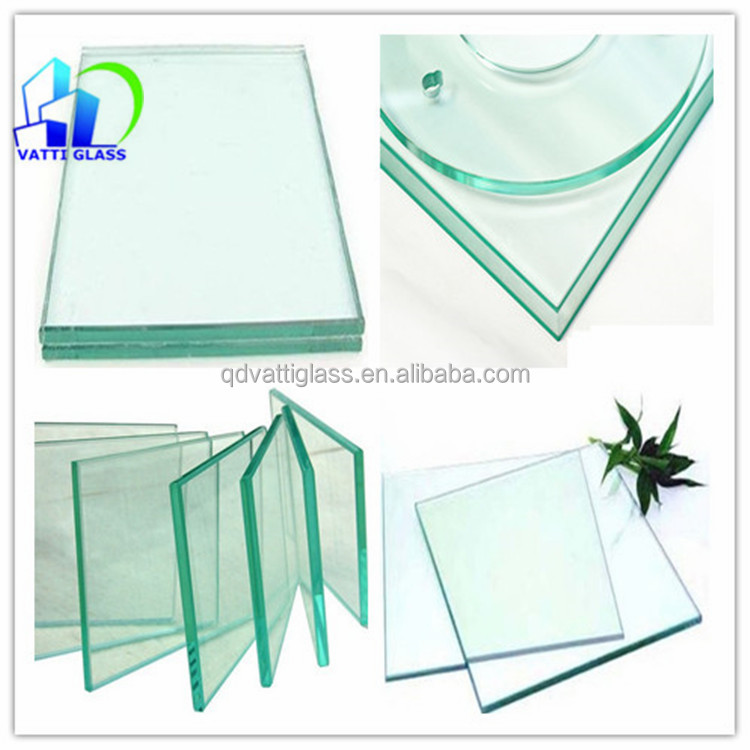 Tempered Glass Top Buffet Table Clear Float Glass Top Conference Table  Float Glass Top Meeting Table