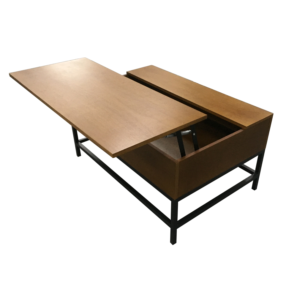 Home Furniture Expandable Adjustable Height Wood Coffee Dining