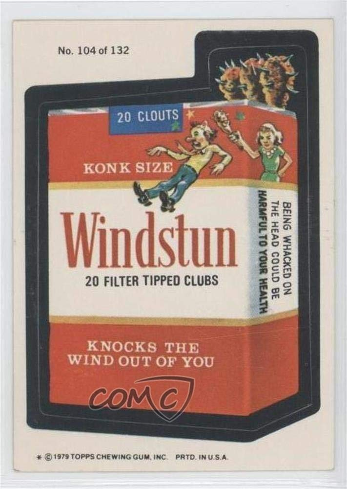 Windstun (One Star) COMC REVIEWED Good to VG-EX (Trading Card) 1979 Topps Wacky Packages Rerun Series 2 - [Base] #104.1