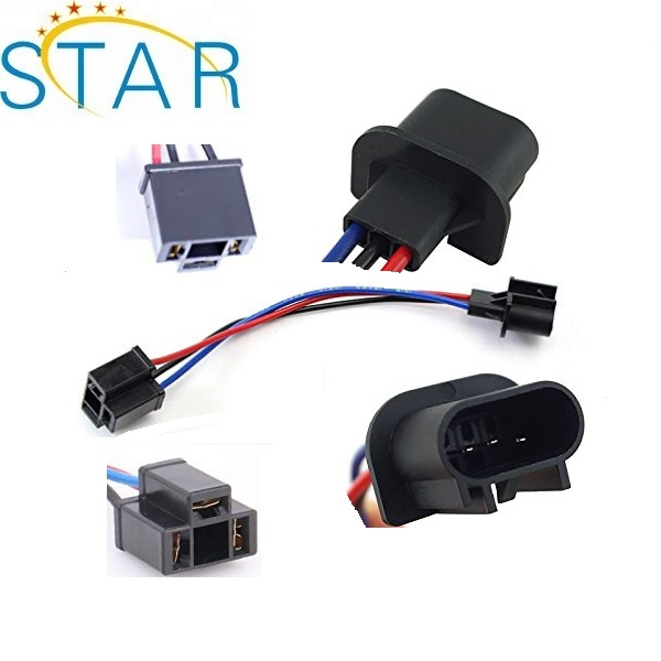 H13 9008 To H4 9003 Pigtail Wire Wiring Harness Adapters For H13/h4 H Wiring Harness on
