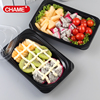 Good Quality Small Custom Design Oem Plastic Sushi Box For Pakaging