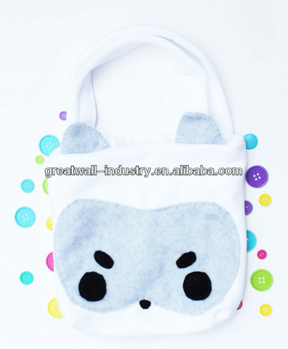 Bandit Raccoon Tote Bag - Cute Schoolbag, Kawaii Backpack