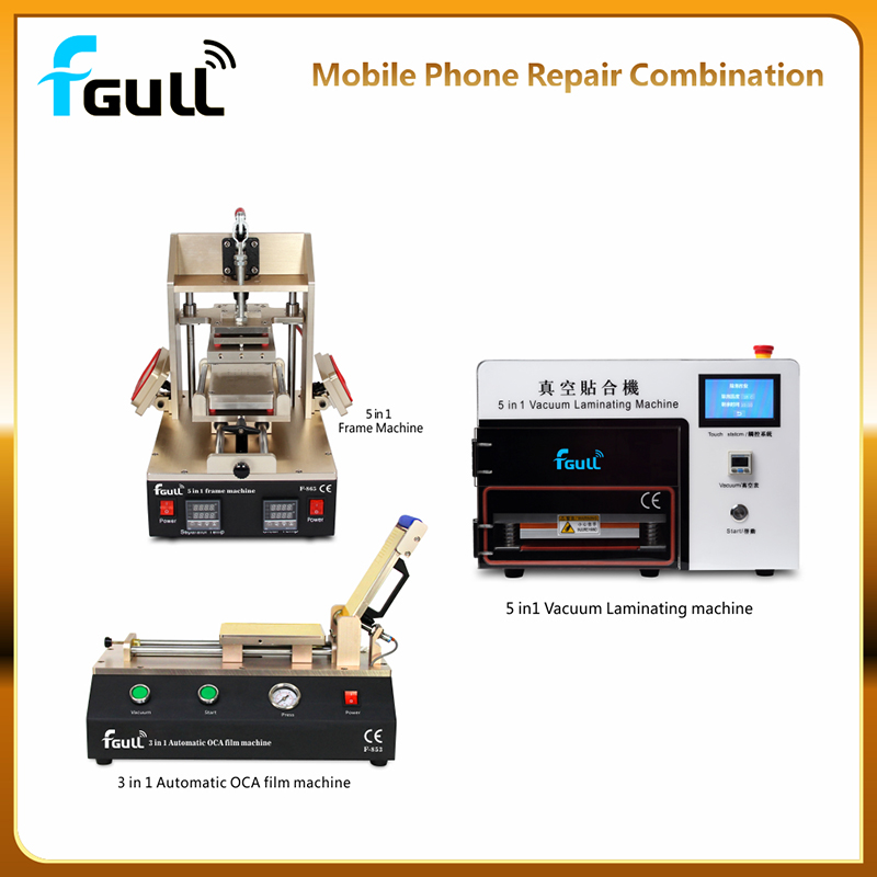 remove bubble 2 in 1 vacuum oca lamination No defoaming machine Without the air compressor