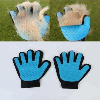 GMT06-0689 OEM Rubber Pet Cleaning Glove Hot Sale Pet Grooming Glove