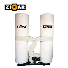 ZICAR FM300S hot sale 2 Bags filter cyclone dust collector