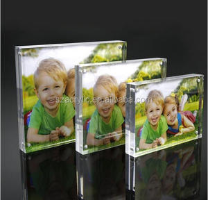 6x8 clear acrylic magnetic picture/photo frames
