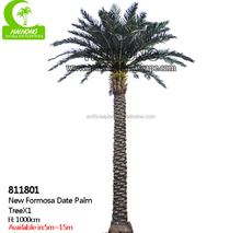 hight quality fiber glass Artificial palm tree special large outdoor artificial trees decorative artificial date palm tree