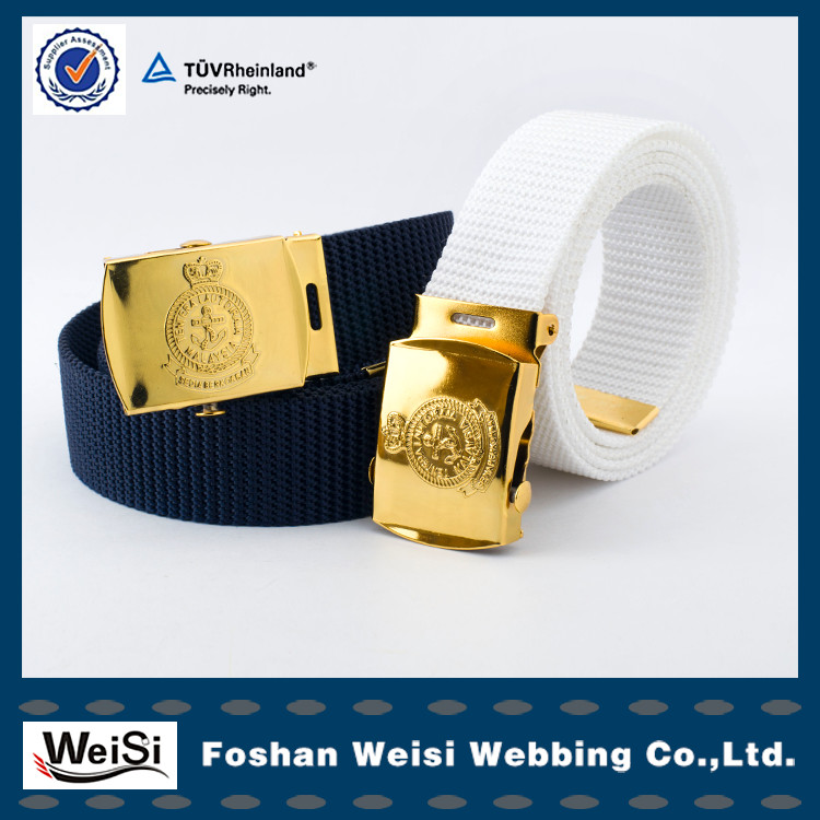 promotions tailored belt navy belt police belt for Malasiya