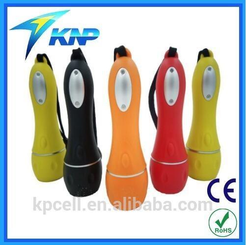Hot Selling Big 5LED Plastic Flashlight in Europe