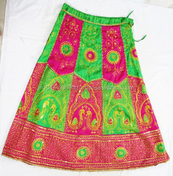New Arrival 2017 Embroidered Handmade Banjara Long Skirt - Buy ...