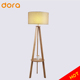 Hotel Project Wooden Tripod Floor Lamp decorative