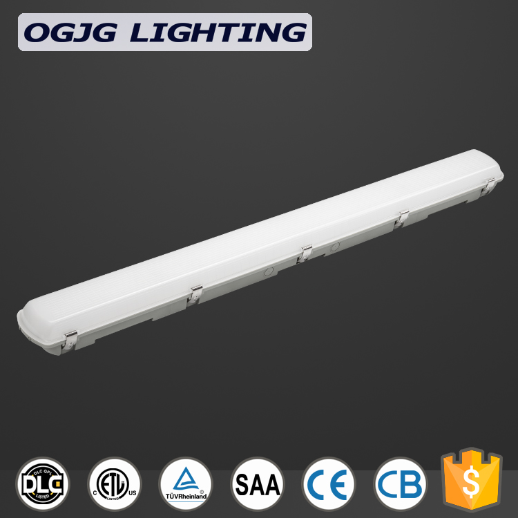 5 years warranty tunnel waterproof dimming sensor ceiling lamp emergency kits LED tri-proof light