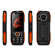 Kaliho Newest Multi-function Big Battery Rotating Light Power Bank Rugged Feature mobiles phones