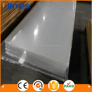 Curved Heat Shrink Resistant Acrylic Plastic Sheet Buy