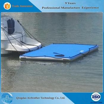 Durable Inflatable Floating Boat Swim Fishing Platform With Ladder - Buy  Floating Platform,Boat Swim Platforms,Boat Swim Platform With Ladder  Product