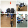 Latest adult double seats pedal car with adjustale seat