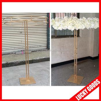 Wedding Table Centerpiece Decorative Metal Flower Stand Wholesale