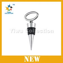 champagne cork stopper,logo wine stopper,cheap price smile face screw silicone wine glass bottle stopper beer plug