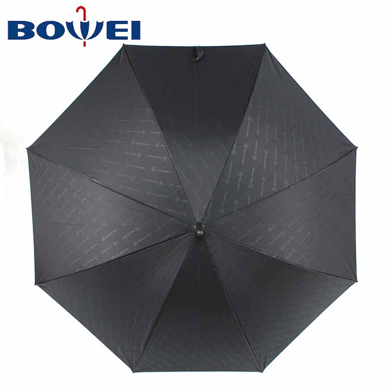 High quality windproof logo custom new innovation long shaft straight umbrella with fan and water