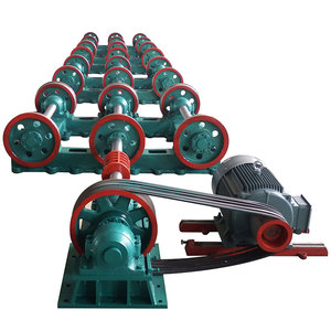 Technical concrete pile steel pole spun cement two wheels centrifugal spinning machine