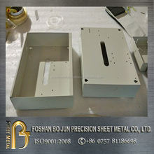 China manufacturer sheet metal fabrication, customized precision white powder coated enclosure