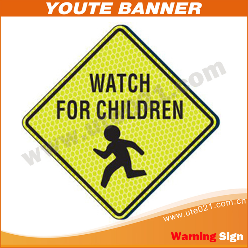 Flashing Road Signals Warning Sign,Safety Traffic Sign Outdoor Use ...