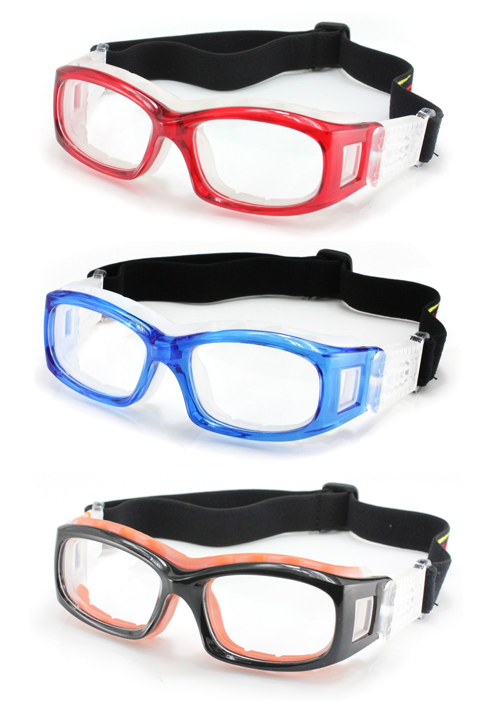 fa990527662 OEM 2016 New Style Foldable Sports Basketball Goggles Kids Sports Eyewear  Basketball Dribble Goggles With Flexible Strap