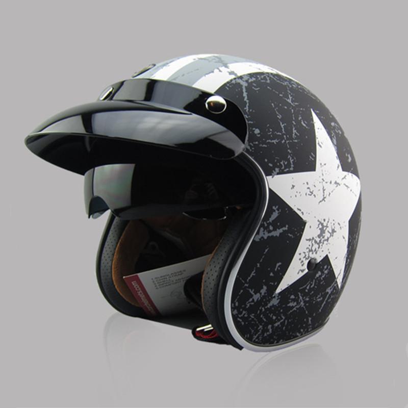 acheter nouvelle arriv e marque torque t57 vintage casque de moto scooter open. Black Bedroom Furniture Sets. Home Design Ideas