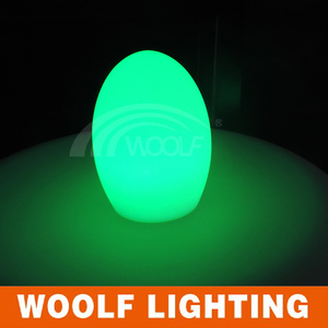 restaurant table light led magic egg glow
