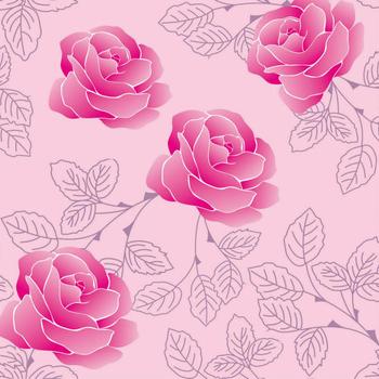 2015 Red Rose Flower Pattern Self Adhesive Film Foil For Bedroom Decoration