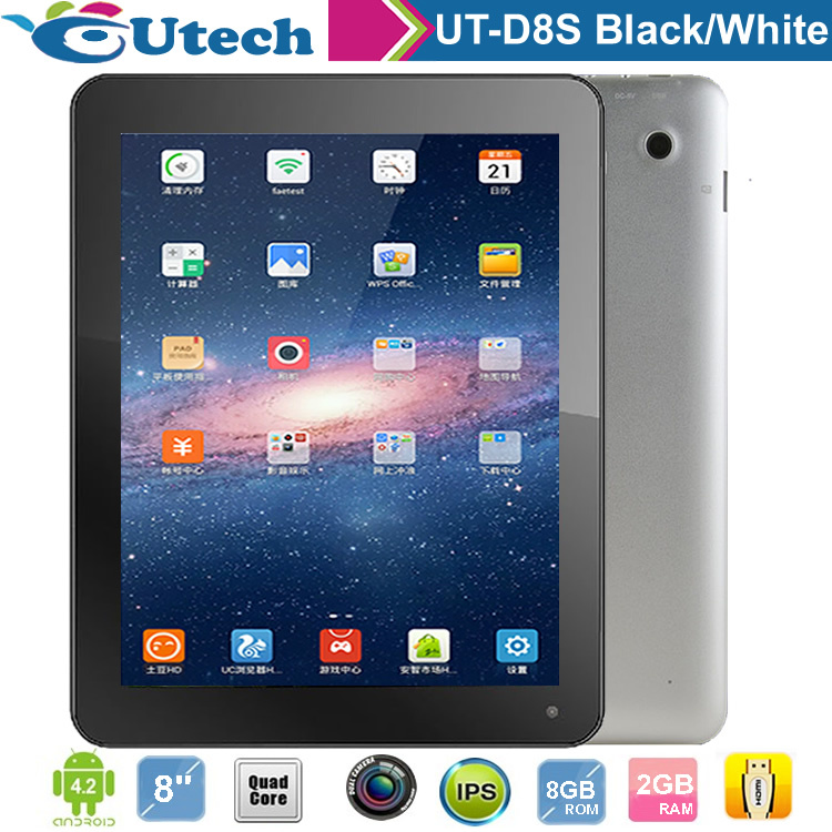 8 Inch 3G/WIFI Android Tablet PC(MID/PAD quad core