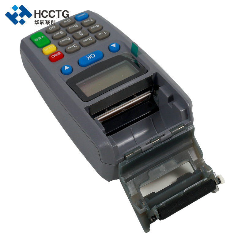 Hot Selling Handheld GPRS 20 Keys Pinpad EFT POS Terminal With Thermal Printer M100
