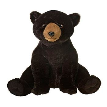 Wild Republic Huge Black Bear Stuffed Animal Stuffed Black Panther