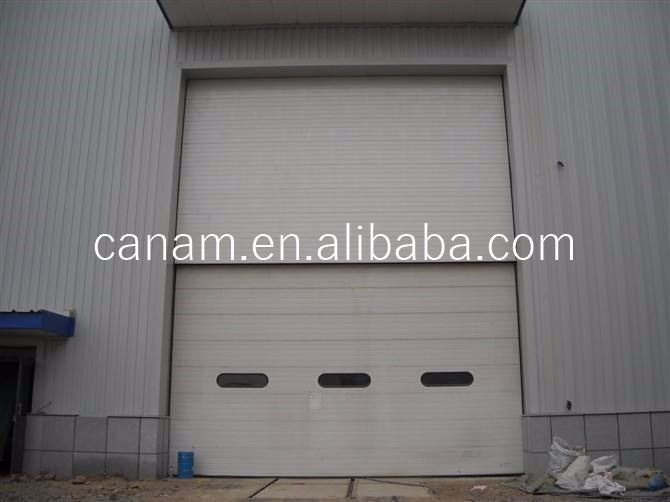 Finger Protection Sectioanl Sliding Industrial Door Sale