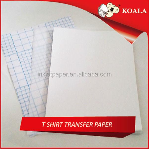 Sublimation t shirt transfer paper for custom t shirt for Inkjet t shirt printing