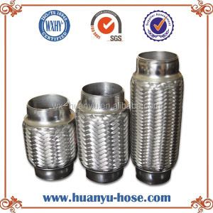 Metal exhaust flexible pipe muffler
