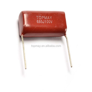 long life 2000hours 0.1UF 400V MEF Metallized Poloyster film capacitor CL21 ROSH compliance