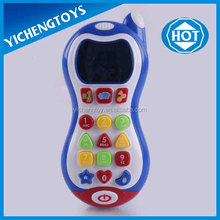 funny plastic smart learning baby phone toy